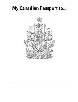 My Canadian Passport to...