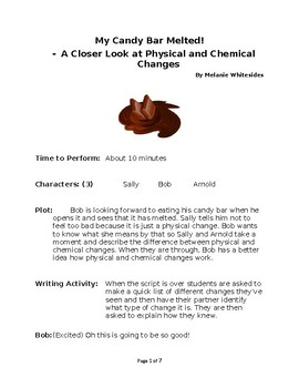 My Candy Bar Melted! - A Closer Look at Physical and Chemical Changes