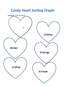 My Candy Heart Graphs