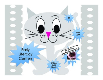 My Cat Book - Nonfiction Book  for Emergent Readers - early literacy centers