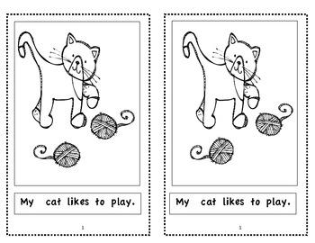 My Cat - Emergent Reader