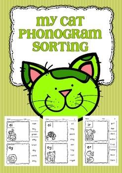 My Cat Phonogram Sorting