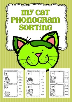 My Cat Phonogram Sorting