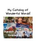 Kindergarten: Digraph Activity