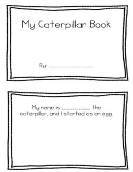 My Caterpillar Book