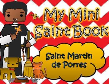 My Catholic Mini Saint Book - Saint Martin de Porres