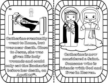 My Catholic Mini Saint Book - Saint Catherine of Siena