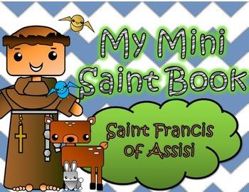 My Catholic Mini Saint Book - Saint Francis of Assisi
