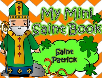 My Catholic Mini Saint Book - Saint Patrick