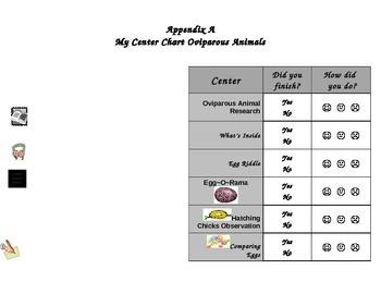 My Center Chart Oviparous Animals