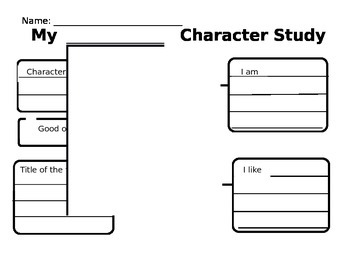 My Character Study