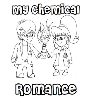 My Chemical Romance: Valentine's Day + Chemistry = Coloring Contest