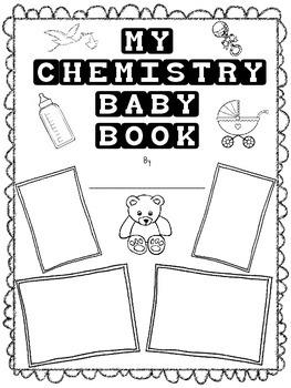 My Chemistry Baby Book Craftivity