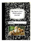 My Egg to Chick Journal-Editable