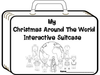 My Christmas Around the World Interactive Suitcase!