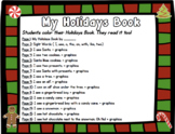 My Christmas Book ( Read and Color)