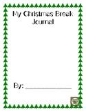 My Christmas Break Journal