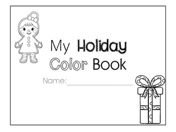 Christmas Coloring Activity Book