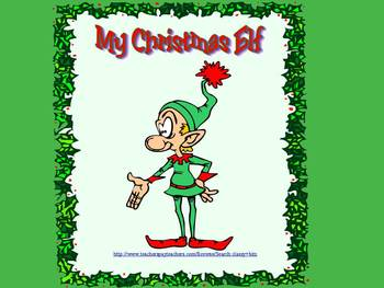 My Christmas Elf Writing and Power Point