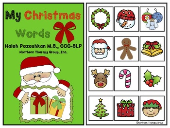 My Christmas Interactive Vocabulary Book