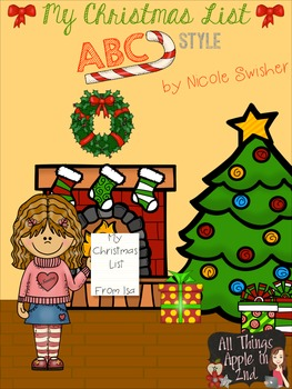 My Christmas List: ABC Style (color and BW)