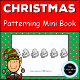 Preschool and Kindergarten Christmas Patterns Book