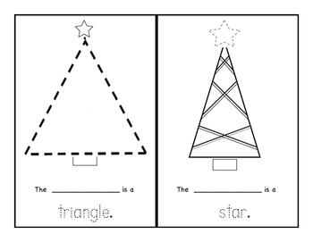 My Christmas Shapes Book