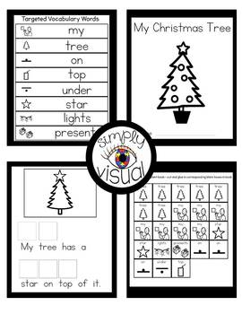 Christmas Tree Adapted Book with Interactive Visuals