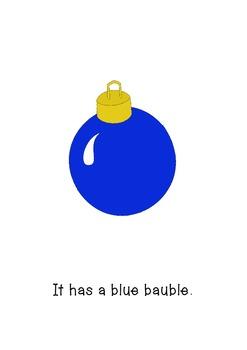 My Christmas Tree - Emergent Reader