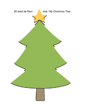 My Christmas Tree / Mi Arbol de Navidad