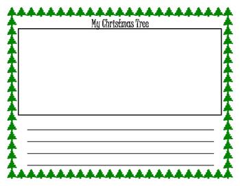 My Christmas Tree Writing