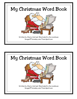 My Christmas Word Book for guided reading