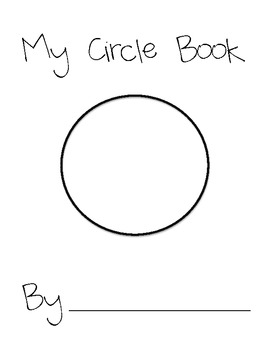 My Circle Book! A fun book with multiple activities.