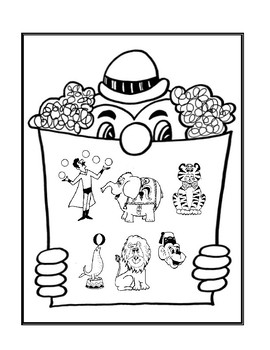 My Circus Story - Reading Activity