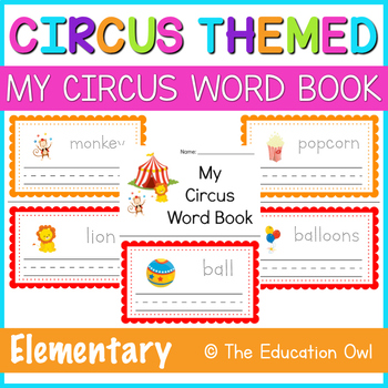 My Circus Word Book