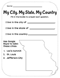 My City, My State, My Country - Missouri