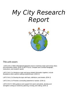 My City Research Report