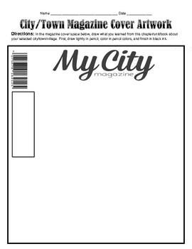 My City/Town Teacher Notes #16
