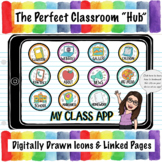 My Class App Template | Google Apps Virtual Learning (83 Pages)!
