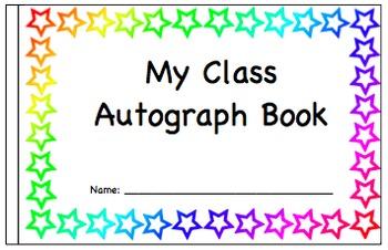 My Class Autograph Book