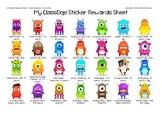 My ClassDojo Stickers Rewards Sheet