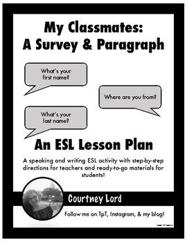 My Classmates: A Survey and Paragraph