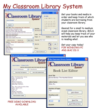 My Classroom Library System for Windows PC