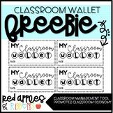 FREE Classroom Wallet