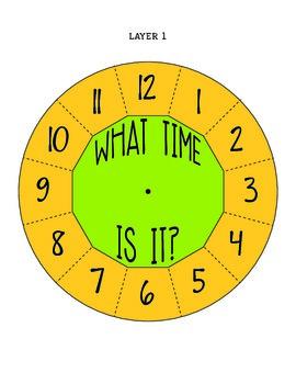 My Clock: Telling Time Craftivity