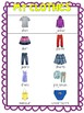 My Clothes Vocabulary! Free