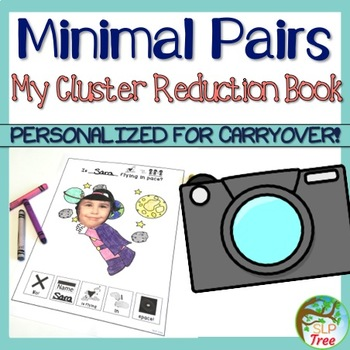 My Cluster Reduction Book: Minimal Pairs Carryover Activity for Generalization