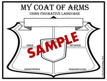 My Coat of Arms (Writing with Figurative Language)