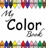 My Color Book (Preschool & Kindergarten)