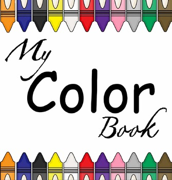 My Color Book (Preschool & Kindergarten)